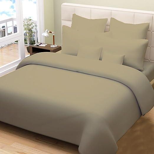 200 G/m² 600 Hilos 100% algodón Egipcio, Combo Colcha de Cama 5 ...