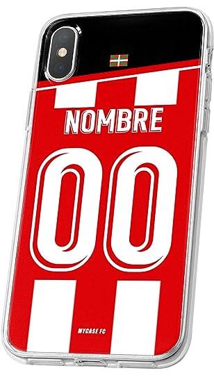MYCASEFC Carcasa Athletic Bilbao de Futbol por Smartphone y móviles - Personalizable y Silicona para Samsung (Samsung Galaxy A5 2017)