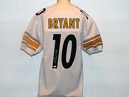 62e6e7abe Martavis Bryant Autographed Signed Steelers White Jersey at Amazon s ...