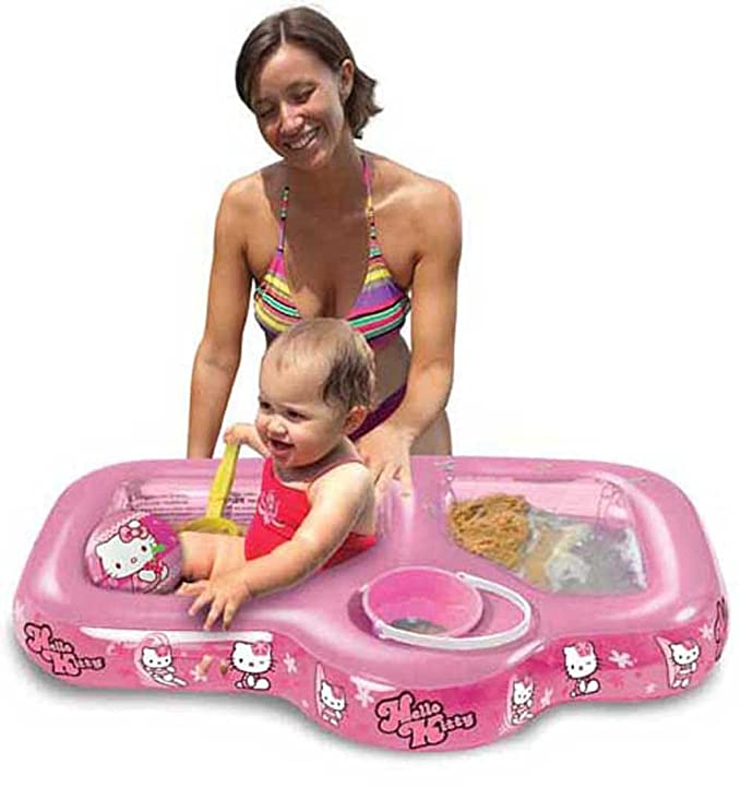 Hello Kitty - Arenero y Piscina Hinchable (Mondo 16479): Amazon.es ...