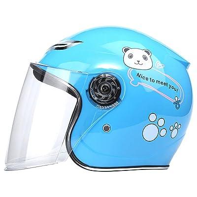BESPORTBLE 1 Pc Children Helmets Full Lens Cartoon Pattern Vehicle Bike Touring Protective Cap : Sports & Outdoors
