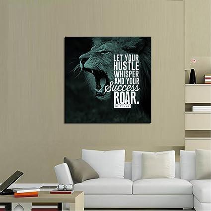Amazon.com: 1 Piece Framed Hustle Secret Canvas Prints - 1 Piece ...