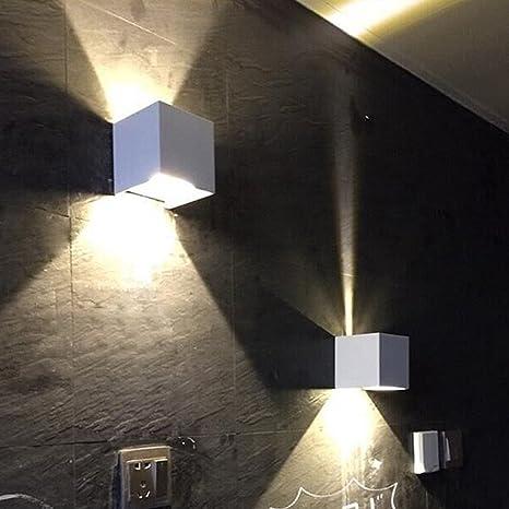 Good 7W LED Wall Sconce Light,Modern Minimalist Dimmable,Adjustable Light  Angle,Aluminum Indoor