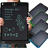 ARVANA 8.5 Inch LCD Writing Tablet for Kids Pads, Handwriting Drawing Digital E Writer Board with Erase Button | Suitable Gifts for Kids, Children, Boys & Girls, Adults - Pack of 1 (Multicolour)
