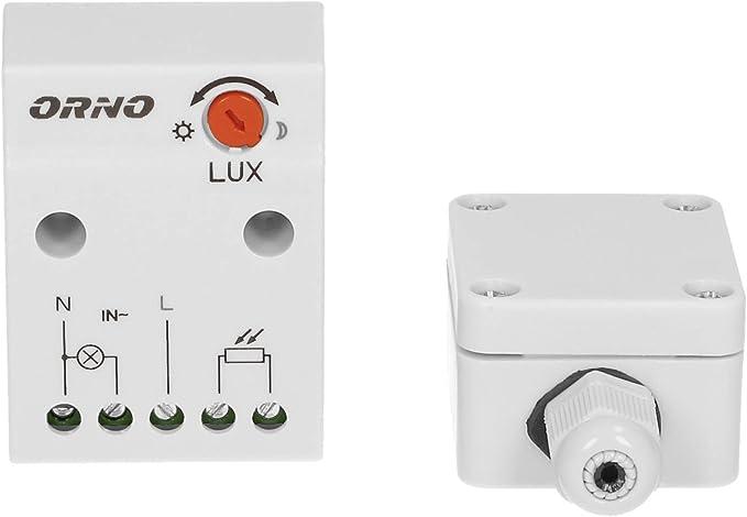 ORNO Twilight Switch 2300W IP65 OR-CR-232 Dusk Till Dawn Sensor Garden Outdoor