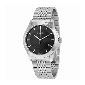 b98936236fc Image Unavailable. Image not available for. Color  Gucci Gucci Timeless  Men s Watch(Model YA126402)