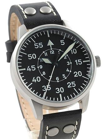 5e4d8b7524eb Amazon.com  Laco Freiburg Type B Dial Hand Wind