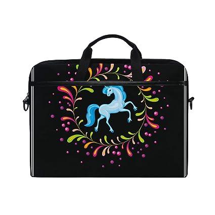 Ahomy 14 - 14.5 Pulgadas Bolsa para Laptop, Unicornio Azul ...