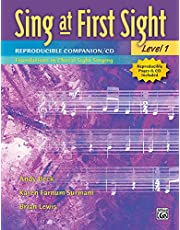 Sing at First Sight Reproducible Companion, Bk 1: Foundations in Choral Sight-Singing, Book & CD