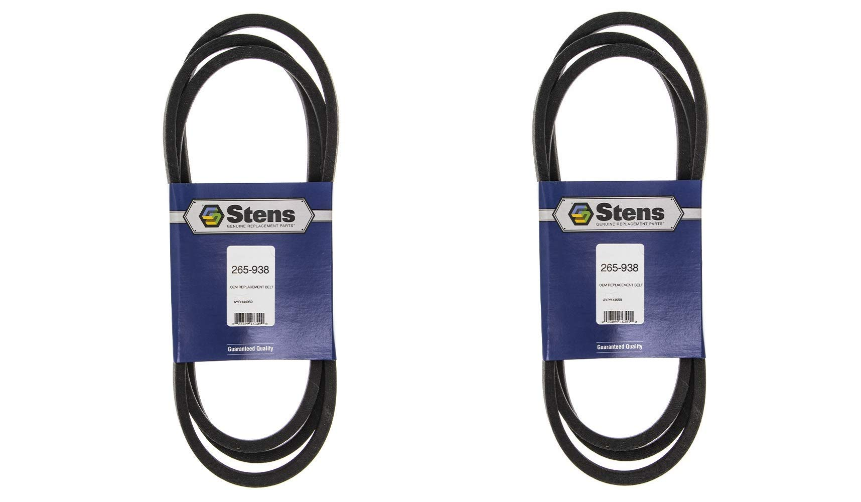 Stens 265-938 Replacement Belt, 95 1/2-Inch (Pack of 2) by Stens