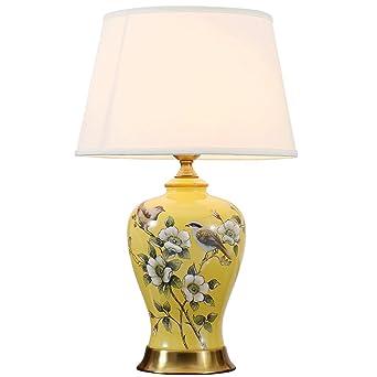 Tisch Nachttischlampen Vintage Keramik Schreibtischlampe
