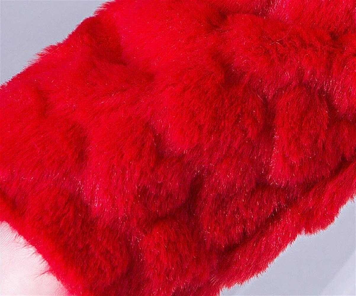Cozomiz Girls Faux Fur Jacket Wraps Shawl Bolero Flower Girls Bolero Shrug with Brooch