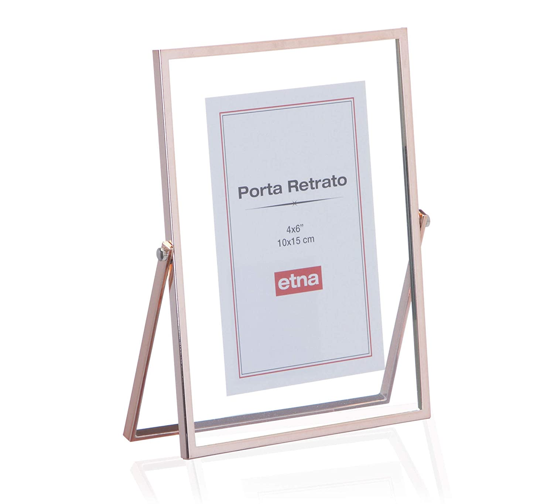 Porta Retrato Bélgica Etna Cobre 10x15cm