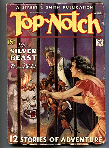 (Top-Notch 4/1935-W. SOARE horror cover-Pulp Magazine)