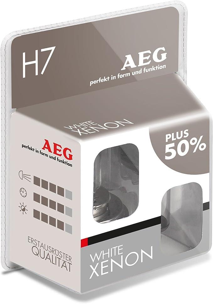 Aeg Automotive 97264 Glühlampe White Xenon H7 55 W 2 Er Set Auto