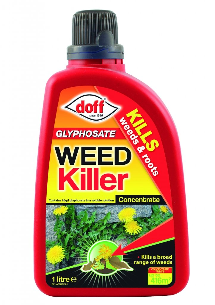 Doff Glyphosate Concentrated Weed killer 1L