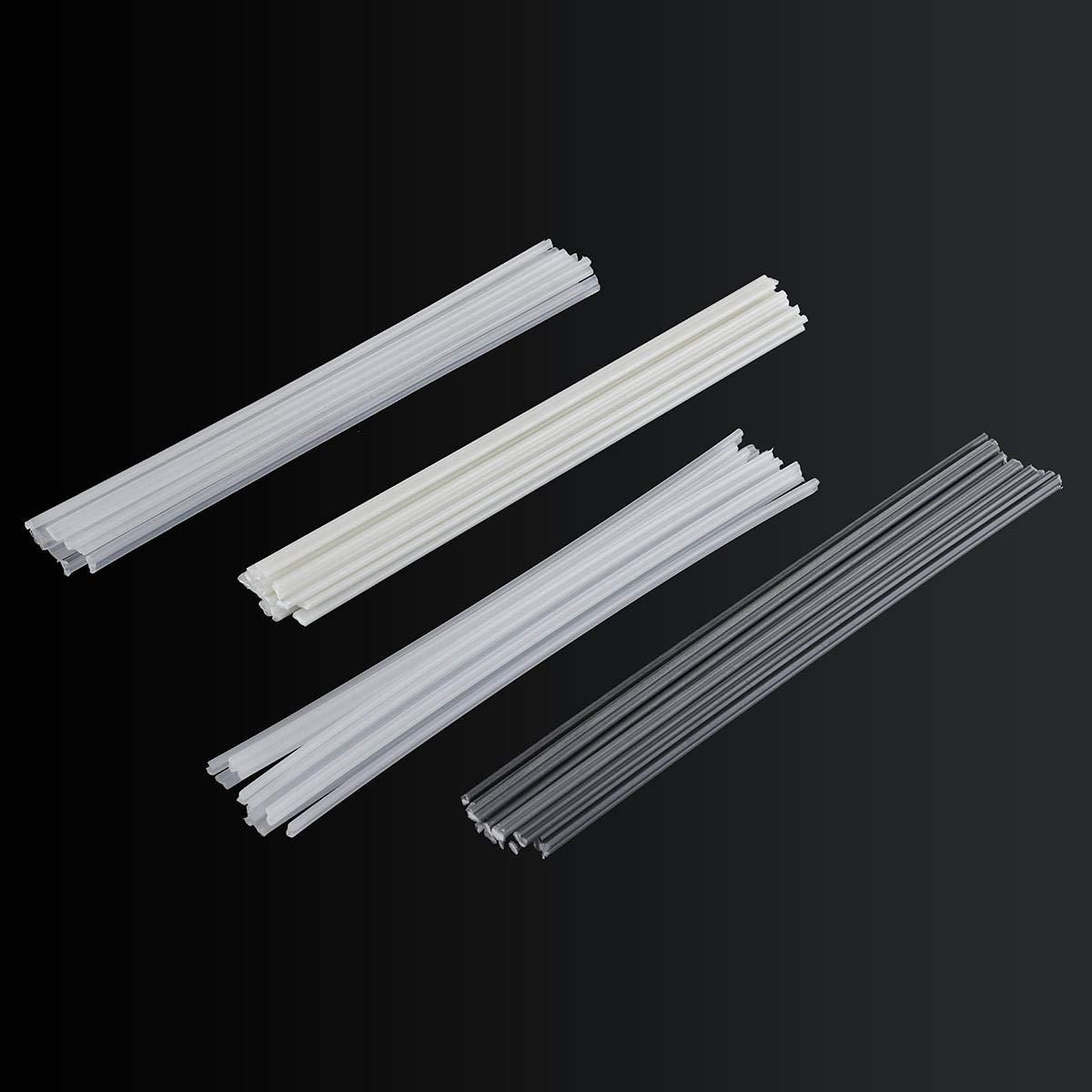 SGerste - Varillas de soldadura de plá stico (50 unidades, ABS/PP/PVC/PE)