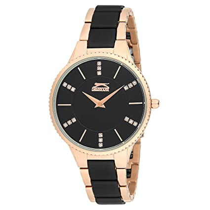 SLAZENGER Womens Analogue Metallic Watch-SL91138303