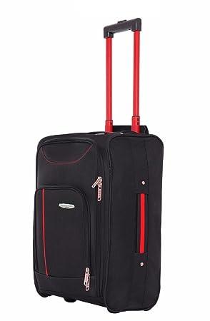 prix compétitif 46ea3 6aeef Borderline, Bagage cabine Noir noir/rouge 50x35x20 cms ...