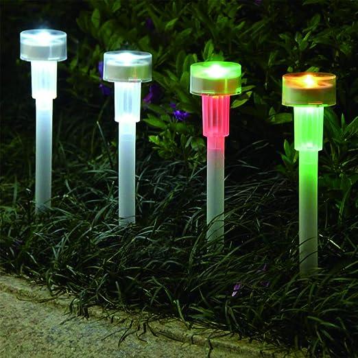 DJSDFHB Luz Solar mágica LED, iluminación Exterior Impermeable para Jardines, iluminación de Jardines (10): Amazon.es: Hogar