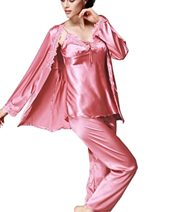 Women s Nighties Satin and Pyjamas Set 60c5da3b1