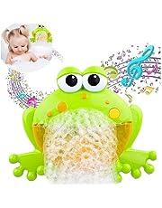 Lomire Máquina de Burbujas de Baño para para Bebés ,Juguetes de Baño de Rana de