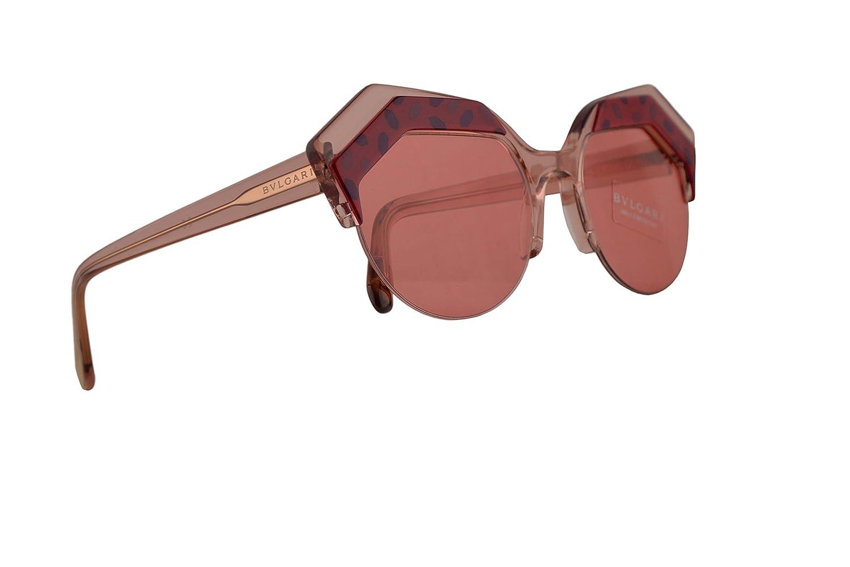 Bulgari BV8203 gafas de sol w/rosa lente 53mm 544584 BV 8203 ...