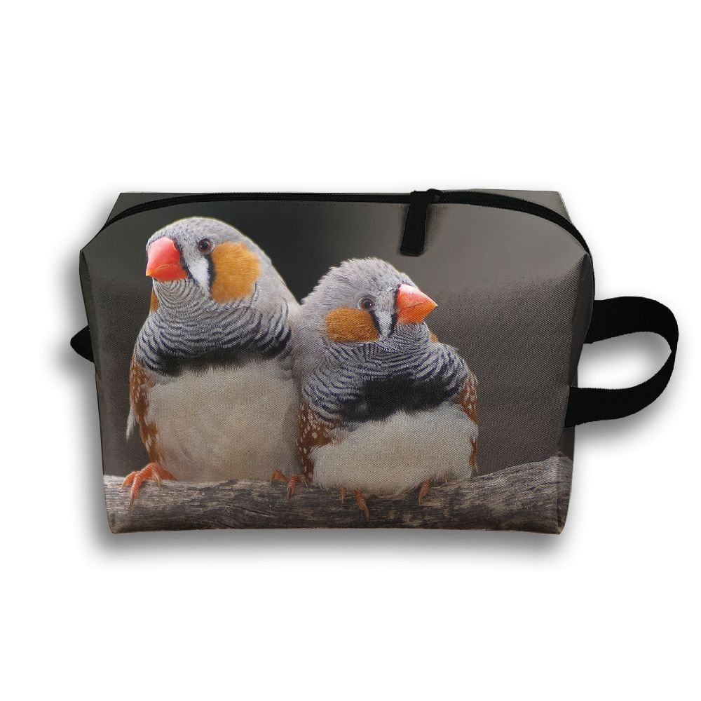 JIEOTMYQ Finch Animal Natural Scenery Travel/Home Use Storage Bag, Clothing Storage Space, Space Saver Washing Bags, Organizers Pouch Set