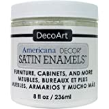 Decoart DECADSA-36.2 Decor Satin Enamels Purewht Americana Decor Satin Enamels 8oz Purewht