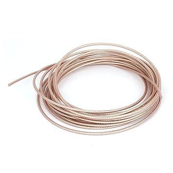 Plomo coaxial - TOOGOO(R) RG316 Plomo cable coaxial Baja perdida alambre de adaptador RF 5M Longitud