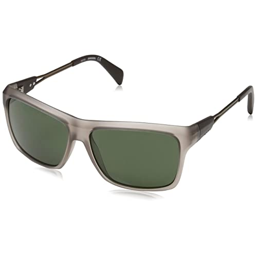 Diesel Sonnenbrille DL0091 5849N Gafas de Sol Transparent 50 para Mujer