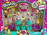 Shopkins Season 3 Super Shopper Pack, Includes 4 Exclusive Shopkins Hidden Inside - Characters May Vary (33 Pieces)