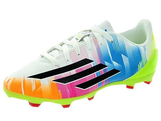 Adidas F10 TRX FG Messi ... Soccer Cleat Solar Slime ... Messi f57c12