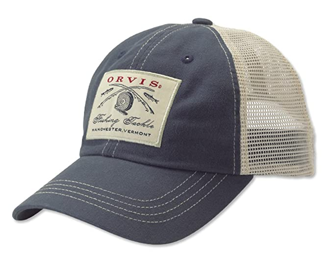 a3e3a4277 Orvis Vintage Trucker Cap: Amazon.co.uk: Clothing