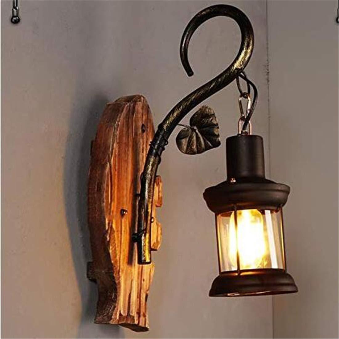 Vintage Chandelierwall Lampe E27 Sockel Industriebeleuchtung Antik Metall Wandleuchte Indoor Home Wandleuchte Bar, Restaurant, Café, Club Retro Dekorative Lampen [Energieklasse A]
