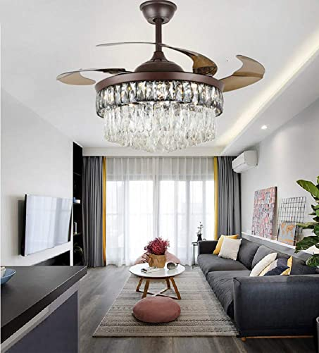 42Inch Crystal Ceiling Fan