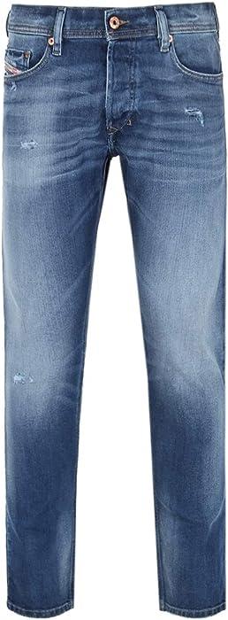 488bde6d Diesel Tepphar Blue Stonewash Slim-Carrot Fit Jeans - 30