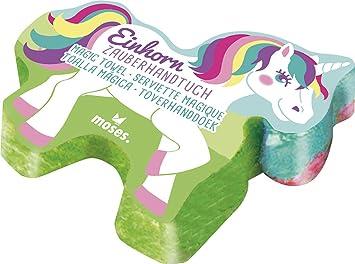 37982 Unicornio Toalla mágica para el cumpleaños infantiles: Amazon.es: Juguetes y juegos