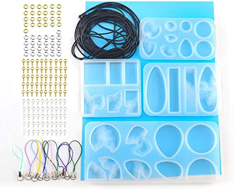 Epoxy DIY Crafts Silicone Mould Casting Mold Jewelry Making Tools Resin Molds