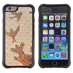 """All-Round Hybrid Rubber Case Hard Cover Protective Accessory Compatible with Apple iPhone 6PLUS ¡ê¡§5.5"""") - meaning deep metaphor kid child"""