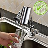 MoonSpect Faucet Water Filter Water filter System, 5 Stage Water Filtration Faucet Mount Water Purifier Filter Water Purifying Device for Home Kitchen