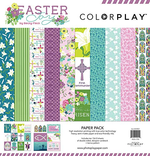 Photoplay Paper EJ9221 ColorPlay Collection Pack 12