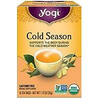 Pack of 1 x Yogi Tea Cold Season - Caffeine Free - 16 Tea Bags