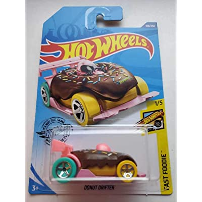 Hot Wheels 2020 Fast Foodie Donut Drifter, 108/250: Toys & Games