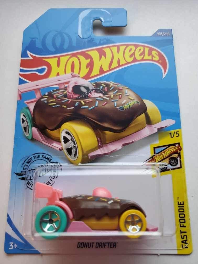 Hot Wheels 2020 Fast Foodie Donut Drifter, 108/250