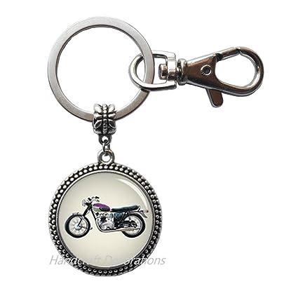 Llavero de motocicleta, amante de la motocicleta, regalo de ...