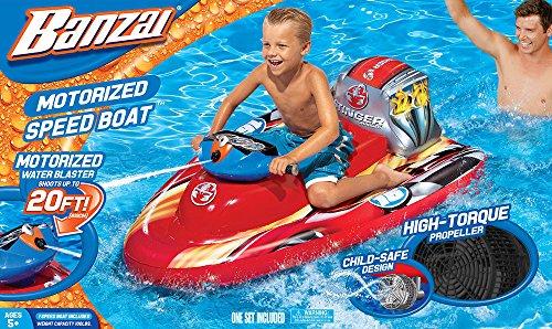 Spring Amp Summer Toys Banzai Motorized Wave Cruiser Pool