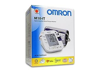 Omron M10 IT Antebrazo Automático 2usuario(s) - Tensiómetro (AA, LCD, 1 pieza(s)): Amazon.es: Hogar
