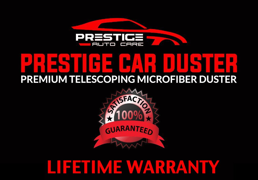 Ultra Premium Car Duster - Better Than The California Duster - Long Extendable Handle - No Wax Streaks Left Behind by Prestige Auto Care (Image #7)