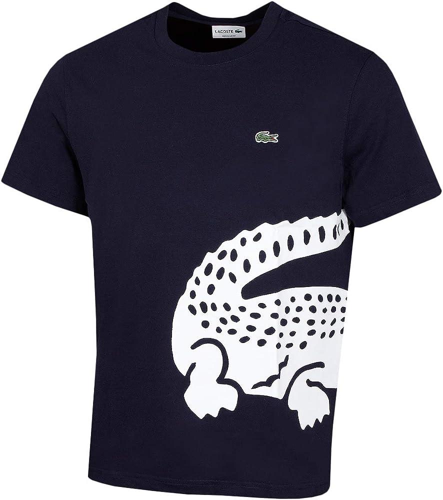 Lacoste Th5139 Camiseta, Azul (Marine 166), X-Small (Talla del Fabricante: 2) para Hombre: Amazon.es: Ropa y accesorios